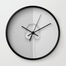 Music Makes The People Come Together Wall Clock