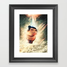 Rise of Sumo Framed Art Print