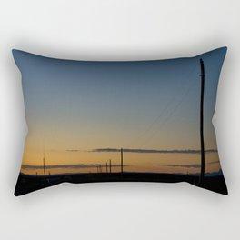 New Mexico Sunset Rectangular Pillow