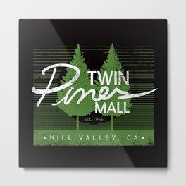 Twin Pines Mall Metal Print