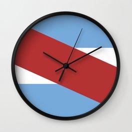 Entre Rios flag Argentina Wall Clock