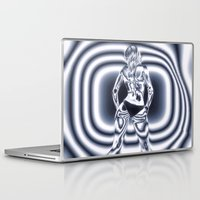 bond Laptop & iPad Skins featuring Bond Girl by Brian Raggatt