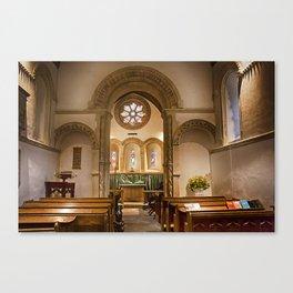 Barfreston Church Canvas Print