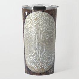 Spiritual symbol. Tree of Life. Travel Mug