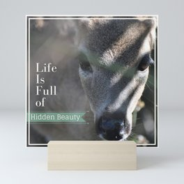 Life Is Full Of Hidden Beauty Mini Art Print
