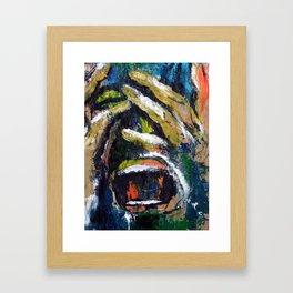 Sfortuna Framed Art Print
