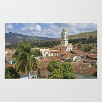 cuba Area & Throw Rugs featuring Trinidad, Cuba by Parrish
