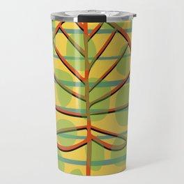 Autumn Leaf abstract Travel Mug