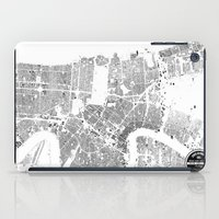 new orleans iPad Cases featuring NEW ORLEANS by Maps Factory