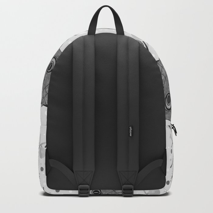 Black And White Owls Backpack