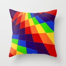 "ROY G Biv - ""Another Look"" Throw Pillow"