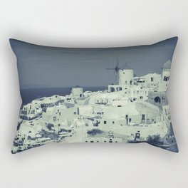 Santorini, Greece 2 Rectangular Pillow