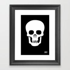 EYE SKULL Framed Art Print