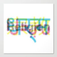 religion Canvas Prints featuring religion by kamizeta