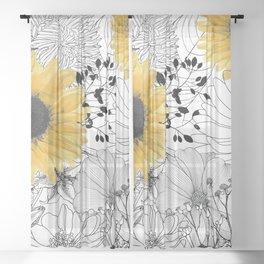 Incidental Sheer Curtain