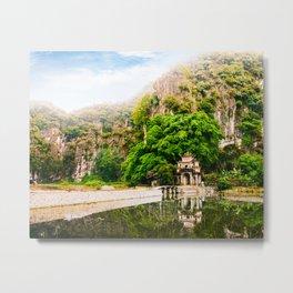 Bich Dong Pagoda in Vietnam Fine Art Print Metal Print