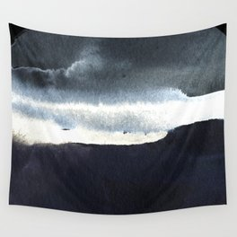 Set of circles ( Cloudy Sky) Wall Tapestry