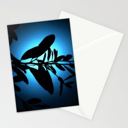 Lost in Blue Moonlight Stationery Cards