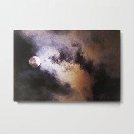 Full Blood Moon Metal Print