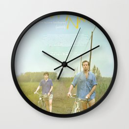 Call Me By Your Name Bike Wall Clock