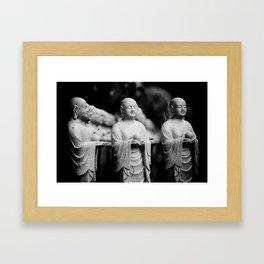 Shrine. Framed Art Print