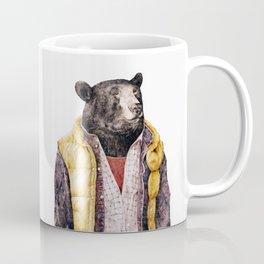 Yellow Vested Bear Coffee Mug