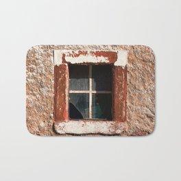 window square Bath Mat