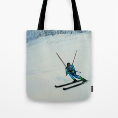 All Downhill Tote Bag