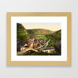New Road, Boscastle, Cornwall, ca. 1895 Framed Art Print