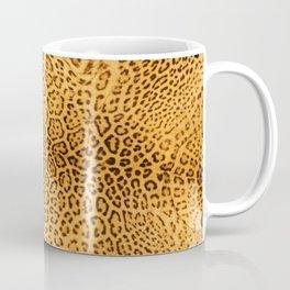 Brown Beige Leopard Animal Print Coffee Mug