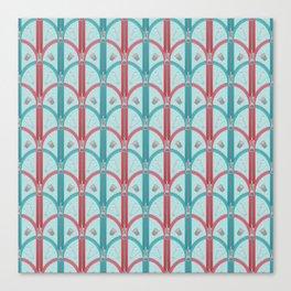 Sewing Artdeco Zippers Canvas Print