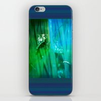 psychadelic iPhone & iPod Skins featuring Psychadelic Seahorse by Heidi Fairwood