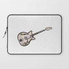 Hollow Body Guitar Laptop Sleeve