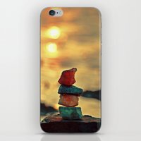 zen iPhone & iPod Skins featuring Zen by teddynash