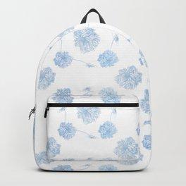 Blue Lotus offset Backpack