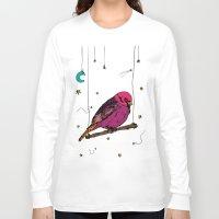 birdy Long Sleeve T-shirts featuring Birdy by Gwladys R.