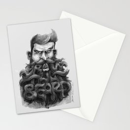 Grow That Beard Stationery Cards