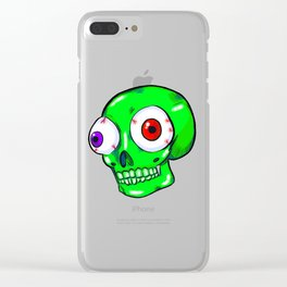 Bug Eyes Clear iPhone Case