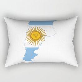 argentina logo Rectangular Pillow
