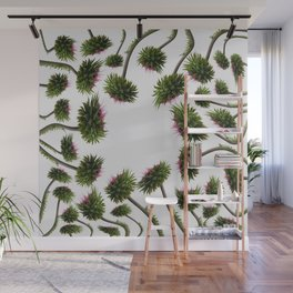 twisted thistle Wall Mural