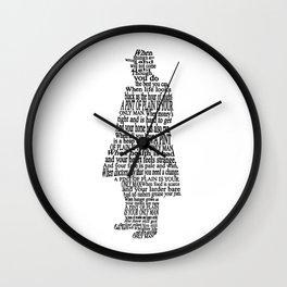 A Pint of Plain Wall Clock