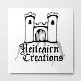 Heilcairn Creations Logo Metal Print