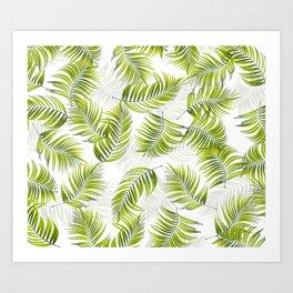 Design 150 Palm Leaves Art Print