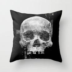 Favela'Skull Throw Pillow
