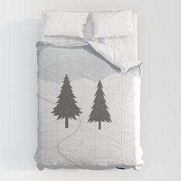 One Fine Winter Day Comforters