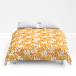 Swanky Mo Citrus Comforters