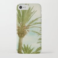palm trees iPhone & iPod Cases featuring Palm Trees by Cassia Beck