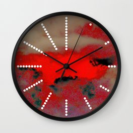 GAMMA RAYS Wall Clock