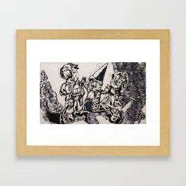 Party Time I Framed Art Print