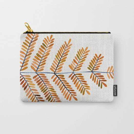 Autumn Leaflets Carry-All Pouch